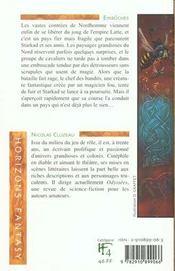 Embuches/Nordhomme 1 - 4ème de couverture - Format classique