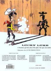 Lucky Luke T.67 ; Marcel Dalton - 4ème de couverture - Format classique