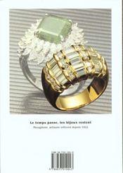 Les bijoux et les pierres precieuses choisir acheter, offrir et porter bij - 4ème de couverture - Format classique