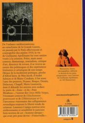 Apollinaire ; la poésie perpétuelle - 4ème de couverture - Format classique