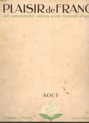 PLAISIR DE FRANCE. ART, AMEUBLEMENT, JARDINS, MODE, TOURISME, MONDANITES. N°20. MAI 1936. 3ème ANNEE. PARIS. LA CITE UNIVERSITAIRE. UN ARCHITECTE DU PARIS NOUVEAU. UN HOTEL PARTICULIER DANS UN IMMEUBLE. TROIS PIECES EN UNE.. - Couverture - Format classique
