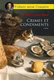 Crimes et condiments - Couverture - Format classique