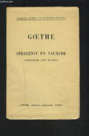 Iphigenie En Tauride / Iphigenie Auf Tauris. - Couverture - Format classique
