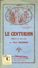 Le Centurion, Mystere En 2 Actes - Couverture - Format classique