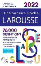 Dictionnaire poche Larousse (édition 2022) - Couverture - Format classique