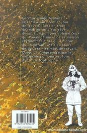 Daigo, Soldat Du Feu ; Daïgo, Soldat Du Feu T.1 - 4ème de couverture - Format classique