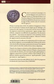 La crise de l'empire romain de marc aurèle à constantin - 4ème de couverture - Format classique