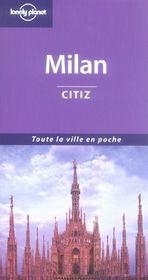 Milan Citiz - 1ed - Intérieur - Format classique