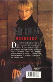 Riptide - 4ème de couverture - Format classique