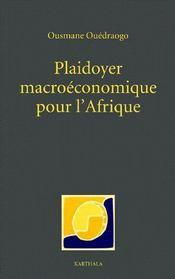 Plaidoyer macroéconomique pour l'Afrique - Couverture - Format classique