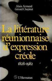Litterature Reunionnaise D'Expression Creole ... - Couverture - Format classique