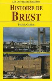Histoire de Brest - Couverture - Format classique