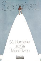 M. dumollet sur le mont-blanc - Couverture - Format classique