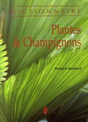 Dictionnaire plantes et champignons - Intérieur - Format classique