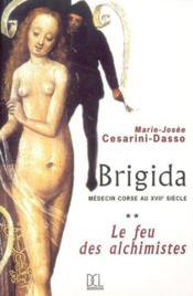 Brigida Le Feu Des Alchimistes Tome 2 - Couverture - Format classique