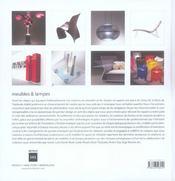 Design design meubles et lampes - 4ème de couverture - Format classique