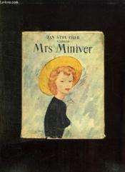 Mrs Miniver. - Couverture - Format classique