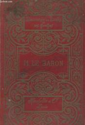 Monsieur Le Baron - Couverture - Format classique