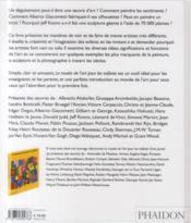 Le musée de l'art pour les enfants - 4ème de couverture - Format classique