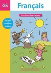 Guide pédagogique français grande section - Couverture - Format classique
