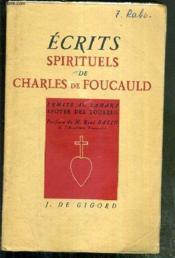 ECRITS SPIRITUELS DE CHARLES DE FOUCAULD - ERMITE AU SAHARA - APOTRE DES TOUAREG - 11eme EDITION - Couverture - Format classique