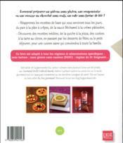 Cuisinez gourmand sans gluten sans lait sans oeufs - 4ème de couverture - Format classique