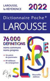 Dictionnaire poche + Larousse (édition 2022) - Couverture - Format classique