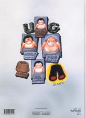 Ug, le petit genie de l'age de pierre - 4ème de couverture - Format classique