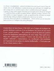 Saint-Simon - 4ème de couverture - Format classique