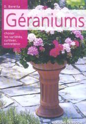 Geraniums - Couverture - Format classique