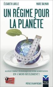Un régime pour la planète - Couverture - Format classique