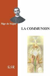 La Communion - Couverture - Format classique