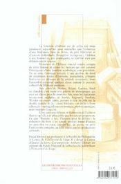 Naissance de l'éditeur ; l'édition à l'âge romantique - 4ème de couverture - Format classique