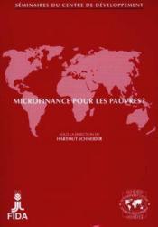 Microfinance pour les pauvres? - Couverture - Format classique