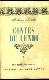 Contes Du Lundi - Tome 1 - Couverture - Format classique
