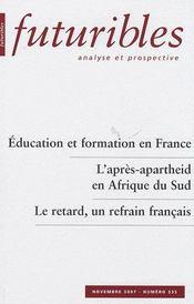 Education et formation en france - Intérieur - Format classique