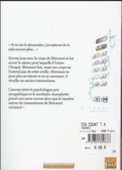 10 Count T.4 - 4ème de couverture - Format classique