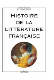 Histoire de la littérature française - Couverture - Format classique