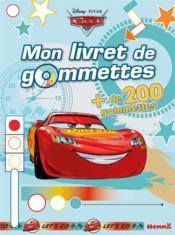 Mon livret de gommettes ; Cars ; cars ; flash mc queen - Couverture - Format classique