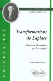 Transformations De Laplace Theorie Et Illustrations Par Les Exemples - Couverture - Format classique