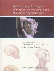 Neuropsychologie clinique et neurologie du comportement - Intérieur - Format classique