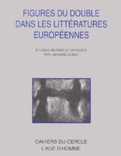 Figures du double dans la littérature européenne - Couverture - Format classique