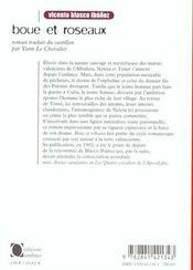 Boue Et Roseaux - 4ème de couverture - Format classique