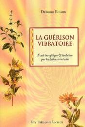 La guérison vibratoire ; éveil ébergétique et évolution par les huiles essentielles - Couverture - Format classique