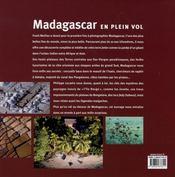 Madagascar en plein vol - 4ème de couverture - Format classique