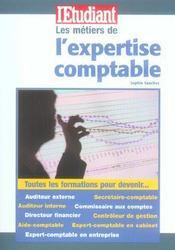Les métiers de l'expertise comptable - Intérieur - Format classique