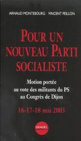 Pour Un Nouveau Parti Socialiste - Intérieur - Format classique