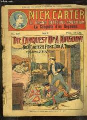 Nick Carter N° 129 La Conquete D Un Royaume. - Couverture - Format classique