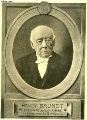 Henri Brunet - Medaillons Bordelais - Livraison N° 9 - Couverture - Format classique