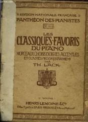 Les Classiques Favoris Du Piano 1er Volume A - Couverture - Format classique